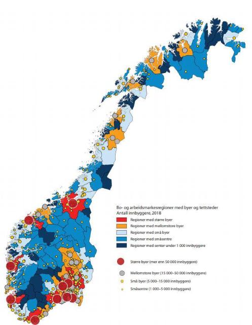 Befolkning i Norge 2018
